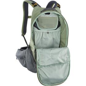 EVOC Trail Pro 16 Protector Backpack light olive/carbon grey